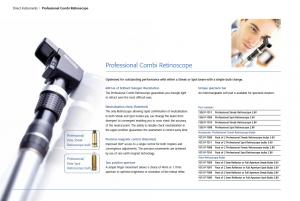 Professional Combi Retinoscope
